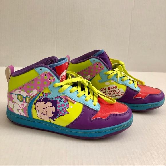 Betty Boop Milkshake Sneakers